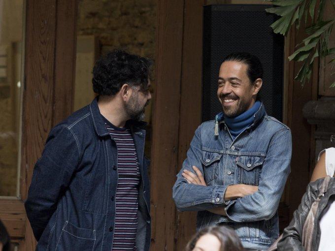 Enrique Rangel y Emmanuel del Real