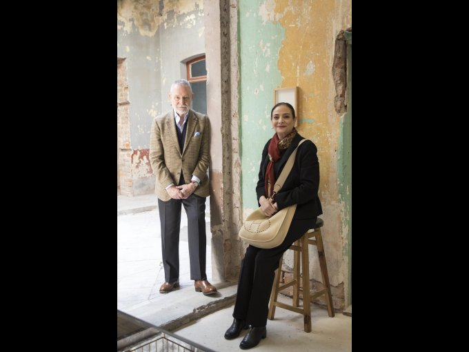 José Antonio Martínez y Patricia Conde