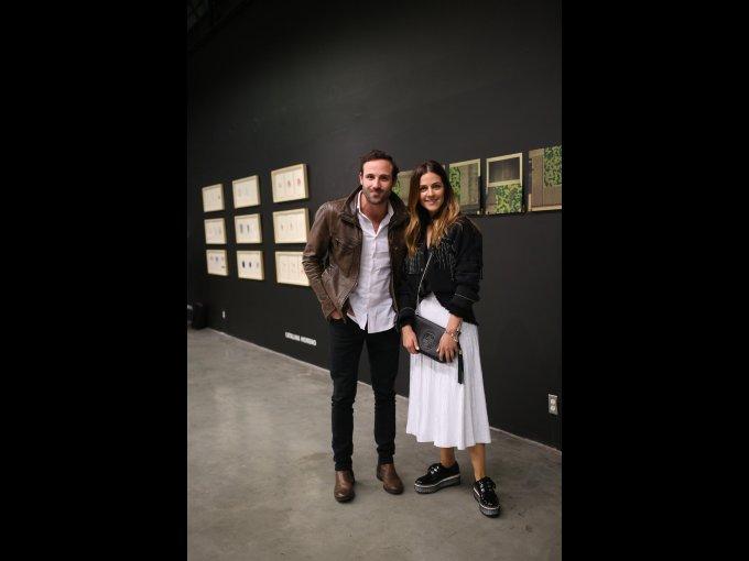 Juan Pablo Riquelme y Paola Ochoa