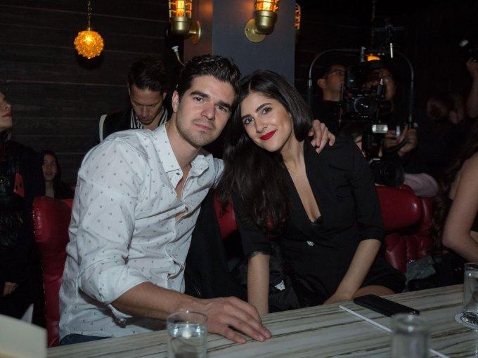 David González con Ana Cristina Gastélum