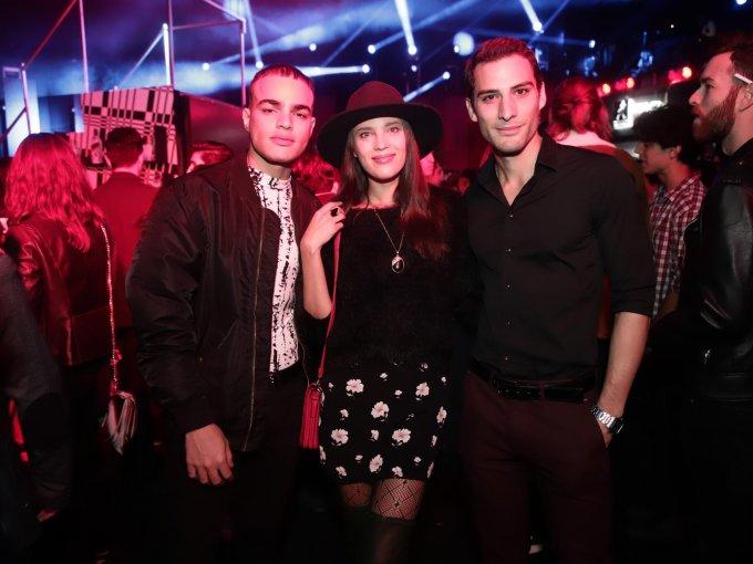 Alejandro Olguín, Alisa Podolskaya y Alfredo Morales