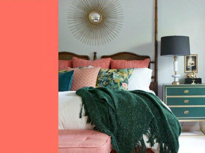 Livin coral es el tono 2019, de acuerdo con Pantone. No te pierdas estas ideas para tu casa:
