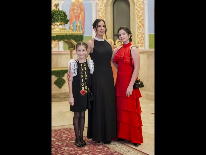 Andrea Mirabal, Daymi Díaz y Victoria Mirabal