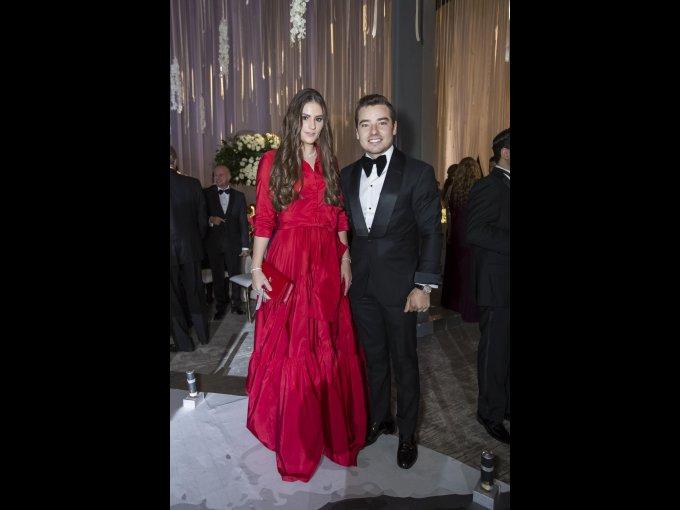 Estela Celis y Jorge Álvarez