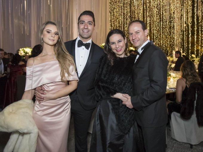 Elsy Said, Alejandro Salome, Laila Tulani y José Luis Cecin