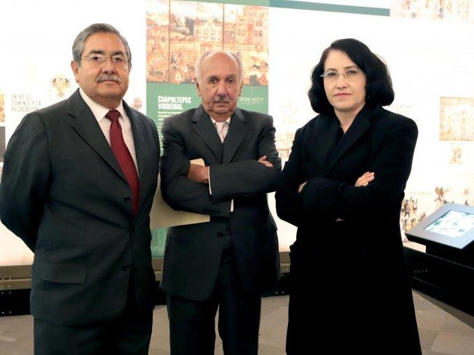 Alfonso Vargas, Luis Vázquez y Lourdes López
