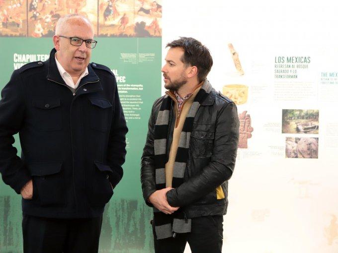 Antonio Saborit y Joaquín Vargas