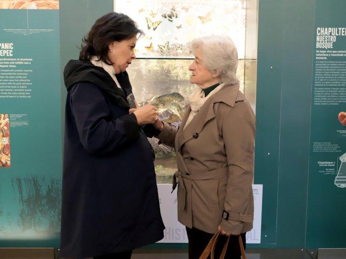 Mónica del Villar y Miriam Kaiser