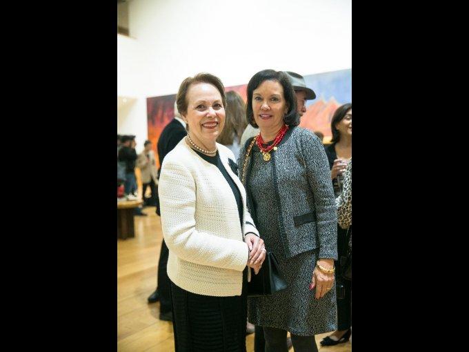 Leticia Ascencio con Cecilia Moctezuma