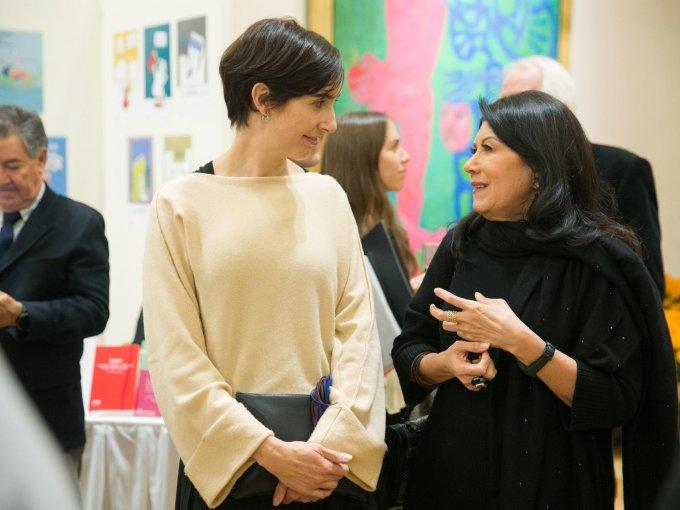 Andrea Castro y Martha Mejía