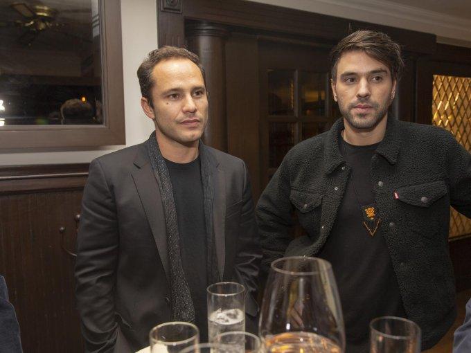 Gabriel Stavenhagen y Rodrigo Urquidi