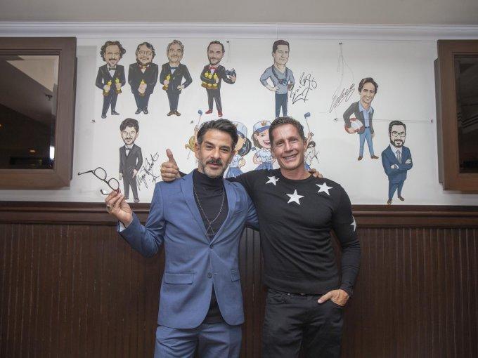 Miguel Rodarte y Bruce Bozzi