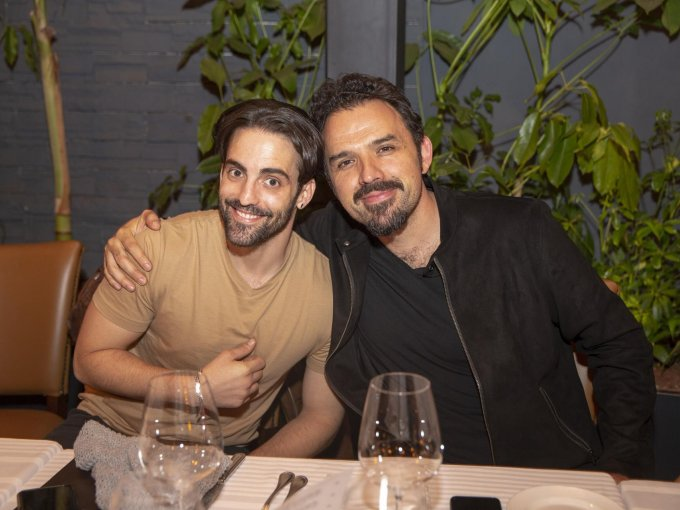 Antonio Gaona y Fernando Rovzar