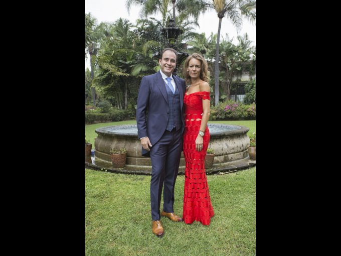 Luis Manuel Peralta y Jacqueline Bouffier