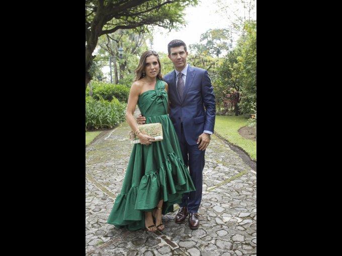 María Fernanda Rodríguez y Federico Madrazo