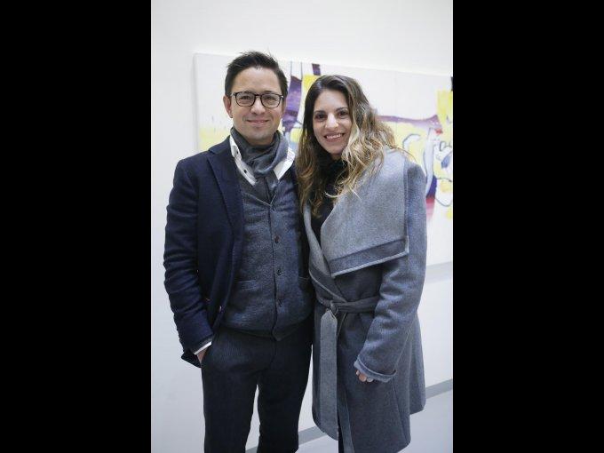 Santiago Sánchez y Pola Zaga