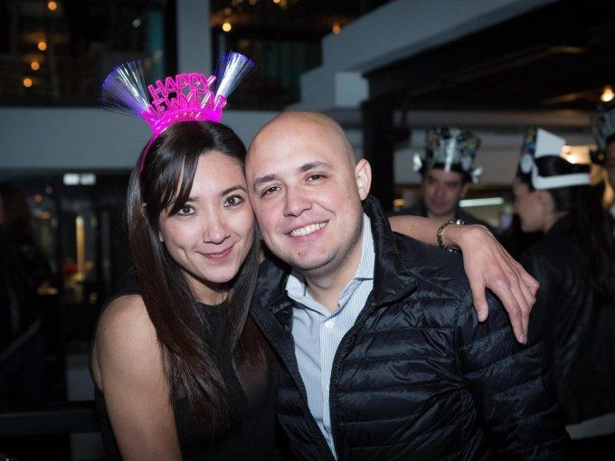 Jessica Huerta y Alejandro Ortiz