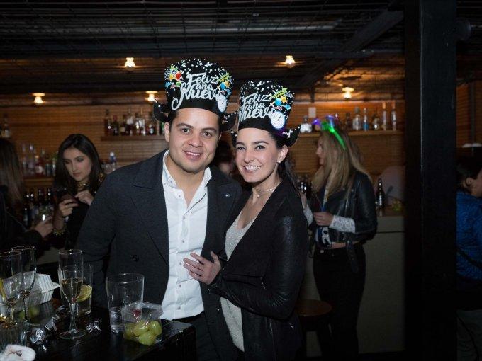 Oscar Quiroz y Fernanda Lazcano