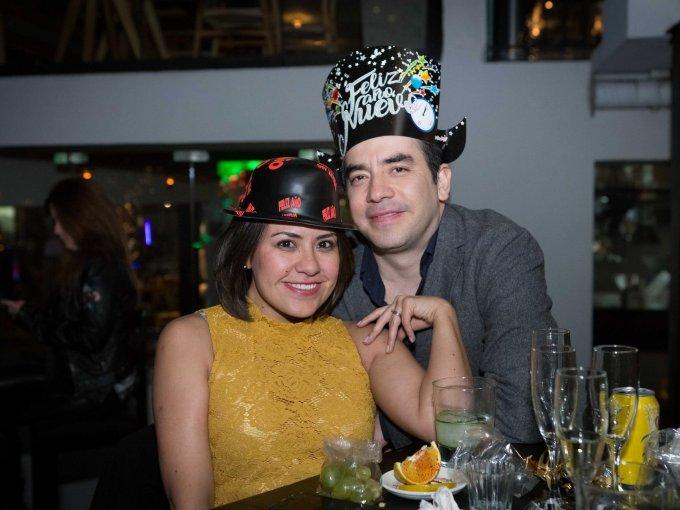 Paty Yañez y Lalo Alcaraz