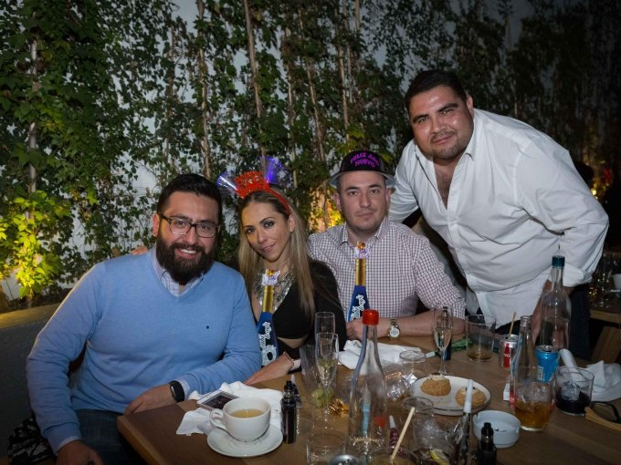 Emilio Duharte, Montserrat Caballero, Adolfo Martínez y Jose Lezama
