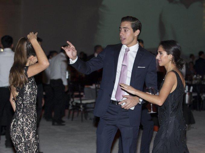 Mey Latapí, Emiliano Medina y Elena Latap