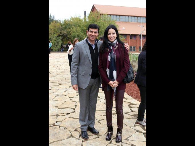 Hernán Martínez y Paulina Zambrano