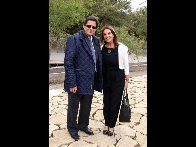 Rodrigo Sánchez Mejorada y Marinela Servitje