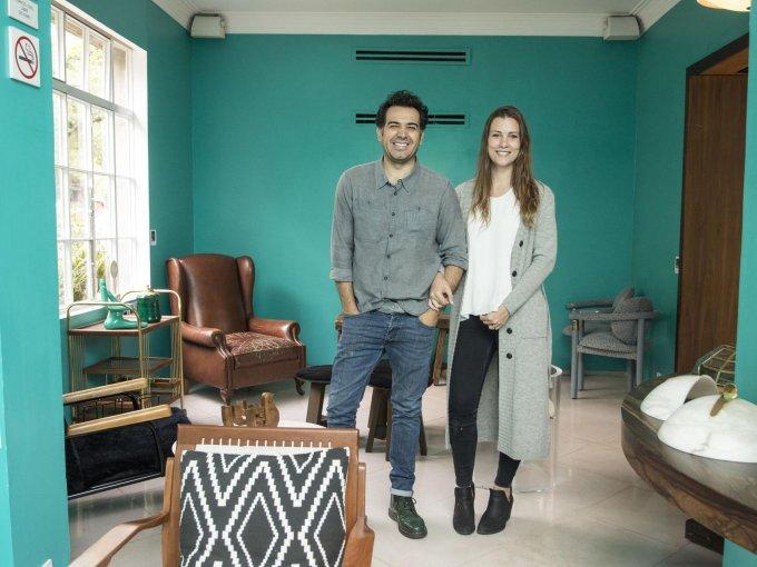 Alejandro Robayo y Ana Barton