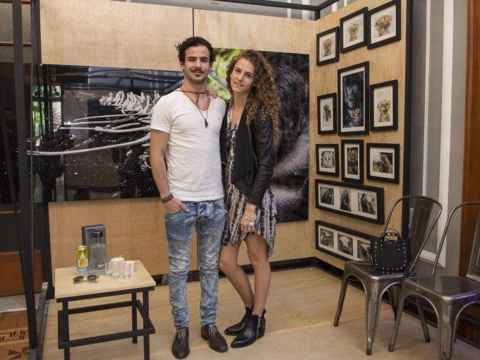 Martín Álvarez y María José Zavala