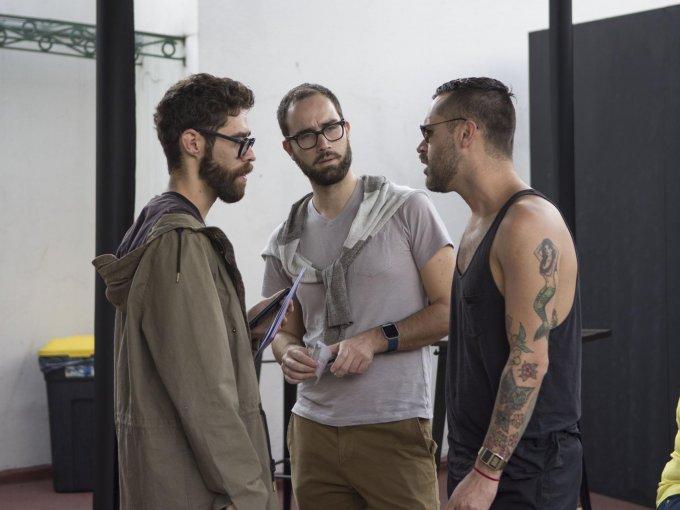Juan Carlos Quintero, Fabio Mantuano y Juan Pablo Hernández