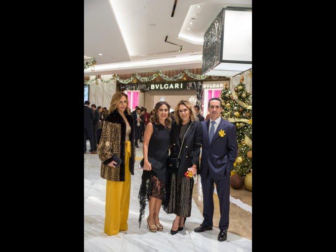Carmiña Peralta, Yanina Serdio, Raquel Orozco y Mariano Lagos