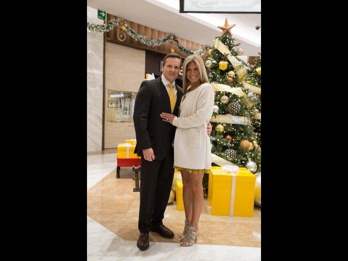 Jorge Krasovsky y Anita Espina