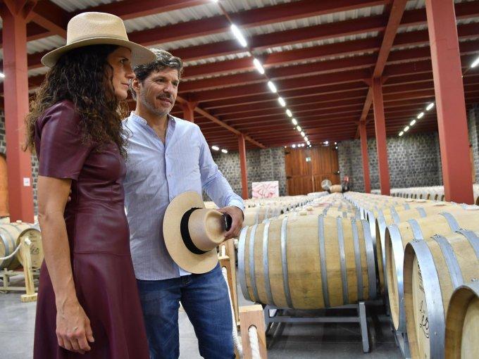 Claudia Farías y José Alberto Herrera