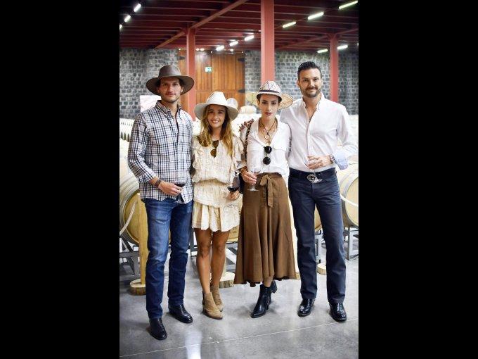 Daniel Treviño, Ana Tricio, María del Sol Quinzaños y Pablo Treviño