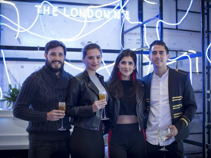 Luis Rosete, Enya Lara, Ana Cristina Gastélum y Eduardo Andrés