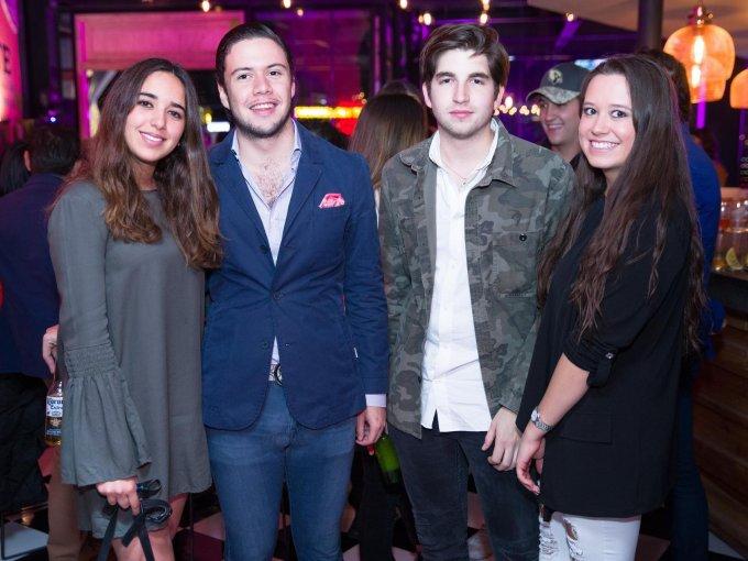 Isabel Quintana, Fernando Miranda, Sebastián Reynaldo y Lucía Castillo