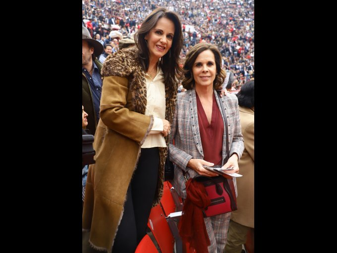 Paulina Covarrubias y Ana Paula de Haro