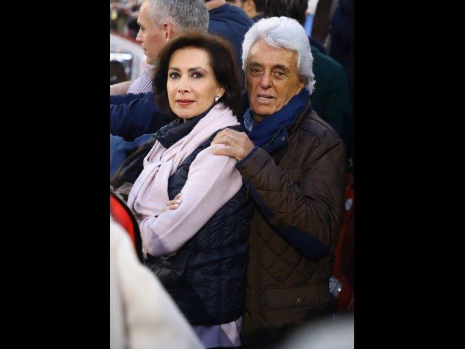 Cecilia Fernández y Justino Compeán