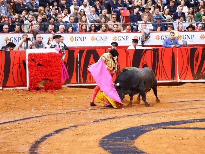 El torero español Morante de la Puebla