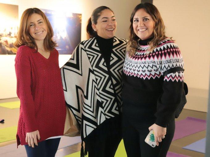 Ximena de Córdoba, Bárbara Ceballos y Pamela Meade