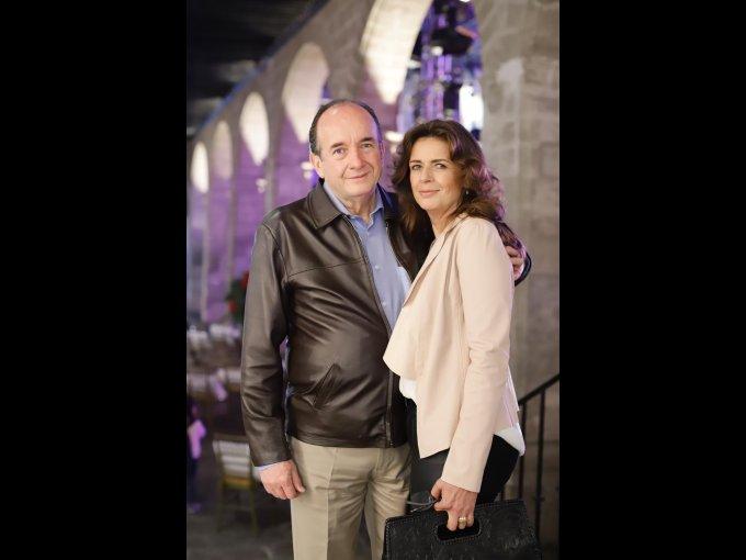 Horacio García y Laura Mota