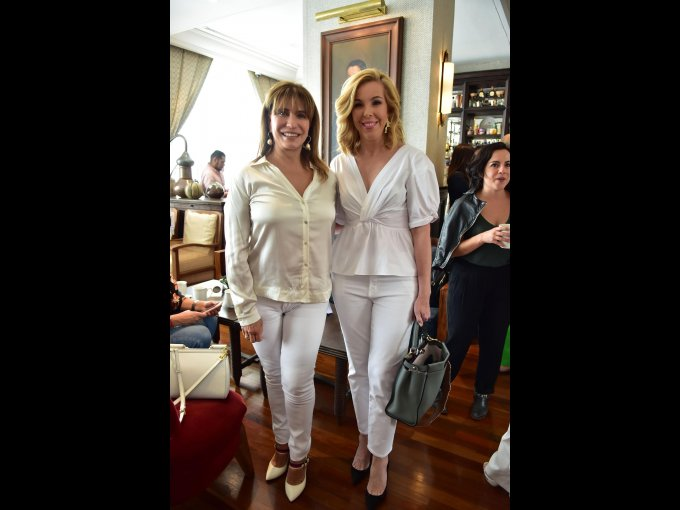 Maribé Lancioni y Eva Hughes