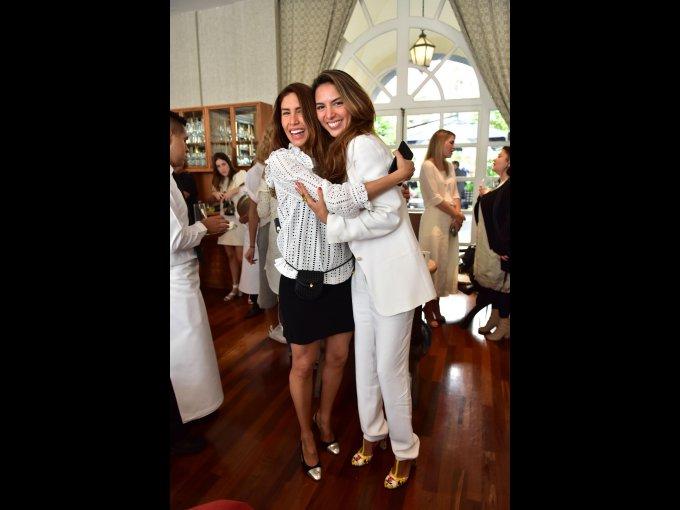 Angélica Tovar y Cristina Alcérreca