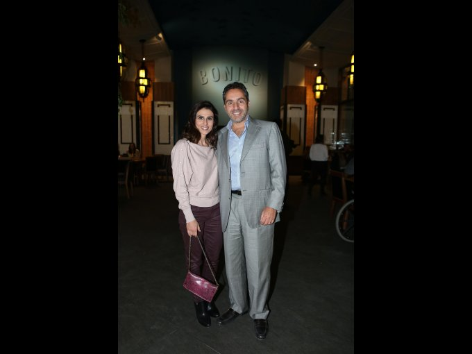 Lisette Sucar y Juan Sucar