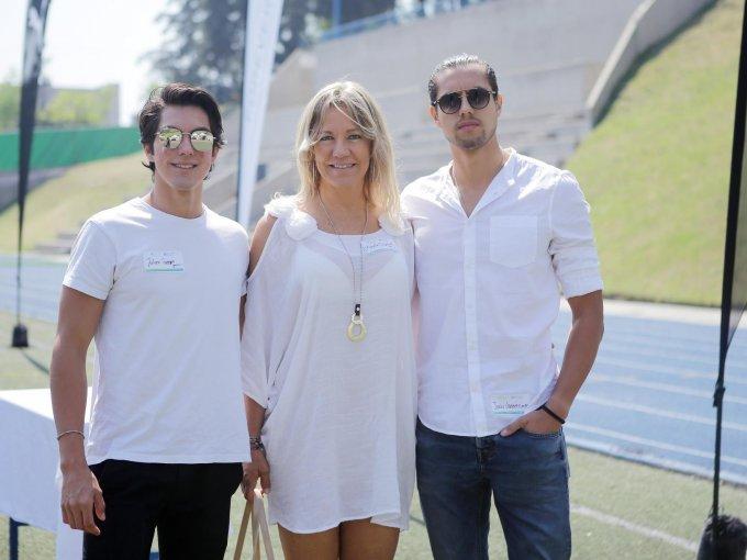 Julien Guerrero, Marcela Bodenstedt y Janko Guerrero