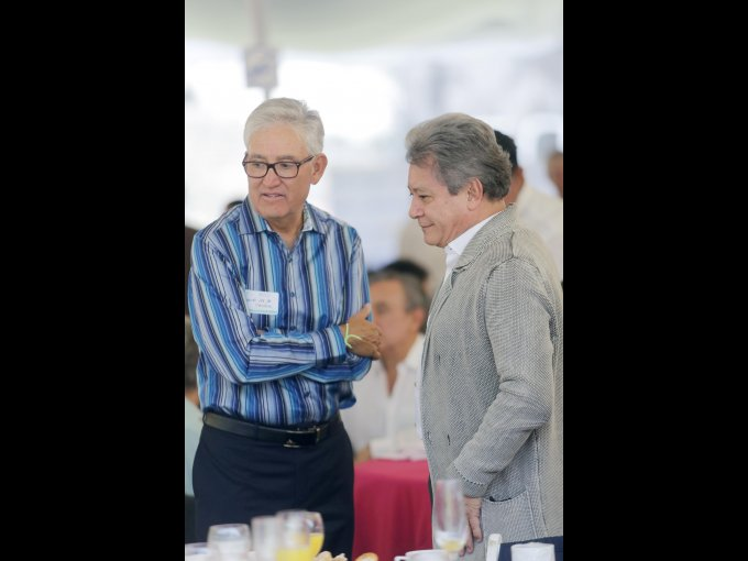 Gerardo de la Concha y Luis González