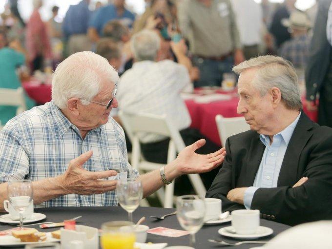 Otto Pletner y Armando Vergara
