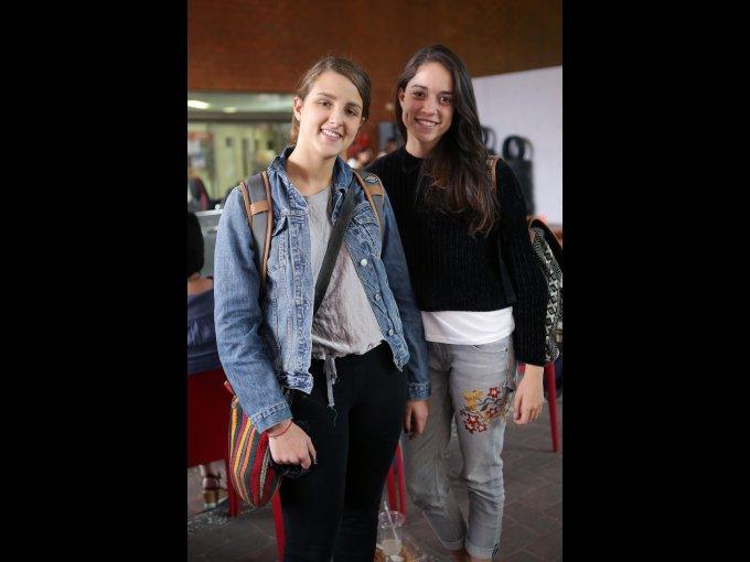 Andrea Valverde y Sara Santoyo