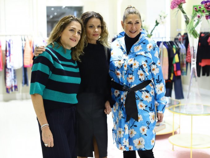 Lourdes Salido, Luli O´Farrill y Ana Laura Llerena