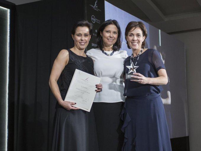 Fernanda, Cecilia y Valeria Gómez